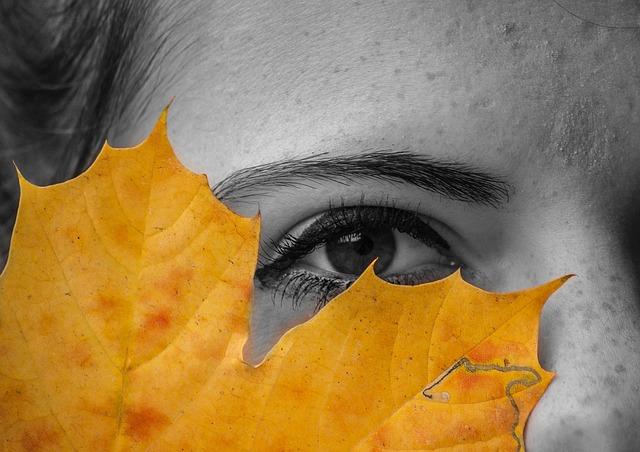 devojka jesen